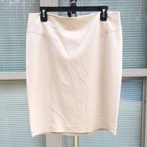 New NY&C cream skirt!